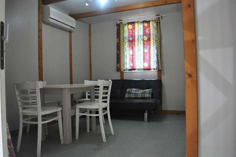 Salón-comedor Gitotel | Camping Jaranda