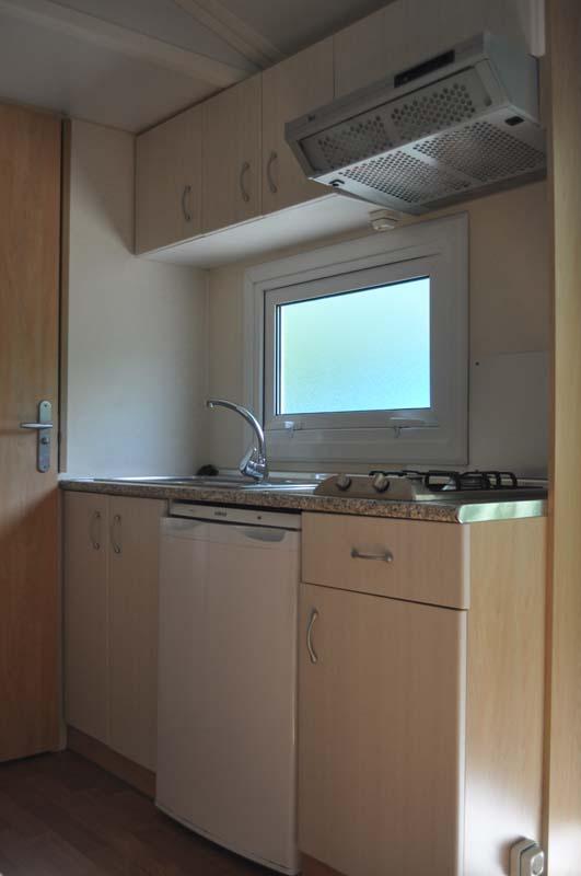 Cocina Mobilhome 2 dormitorios